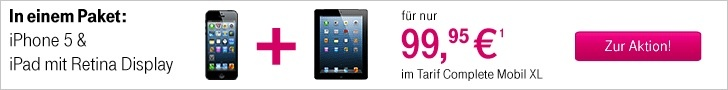 T-Mobile - Iphone 5 und Ipad 4 im Bundle