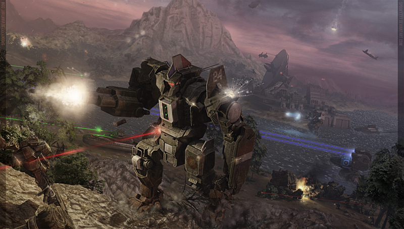 MWO: Forums - Mechwarrior Wallpapers