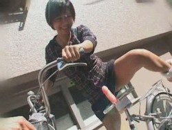 Japanese Dildo Bicycle 85