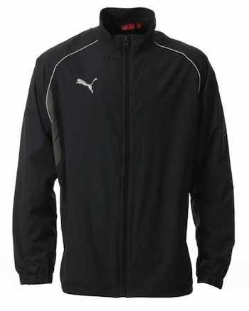 Mens Puma Full Zip Wet Jacket - Navy - Mens