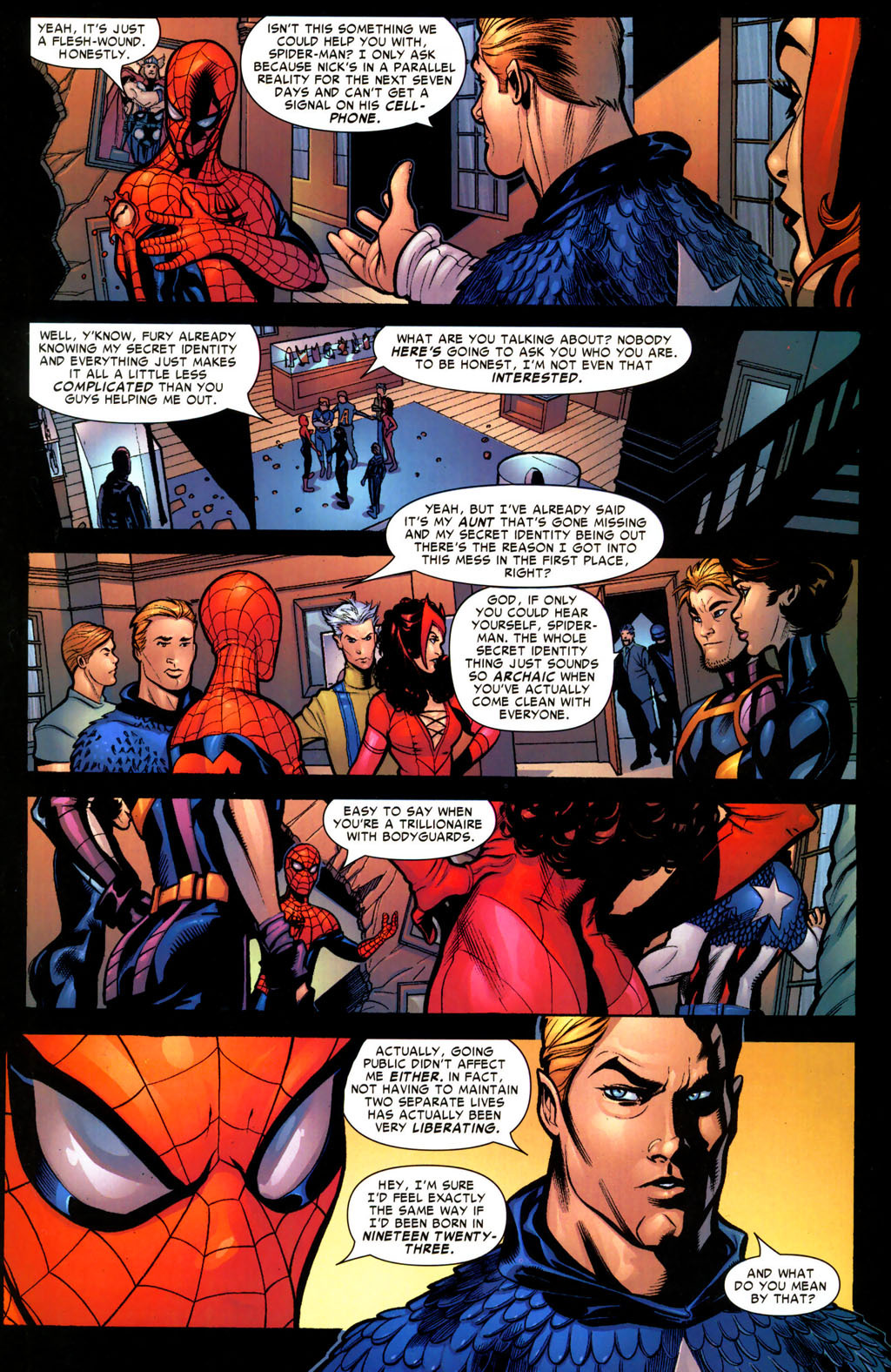scans_daily | Captain America's principles on revealing ... - photo#3