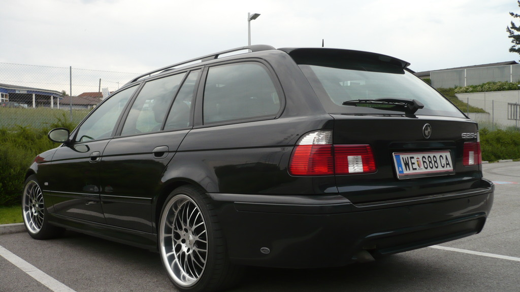 e39 touring dachkantenspoiler heckspoiler original bmw. Black Bedroom Furniture Sets. Home Design Ideas