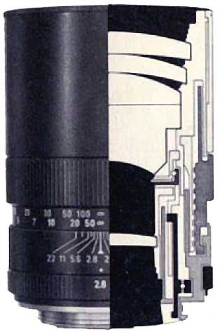 Leitz Elmarit-R 2 8/135mm version 1 and 2 differences
