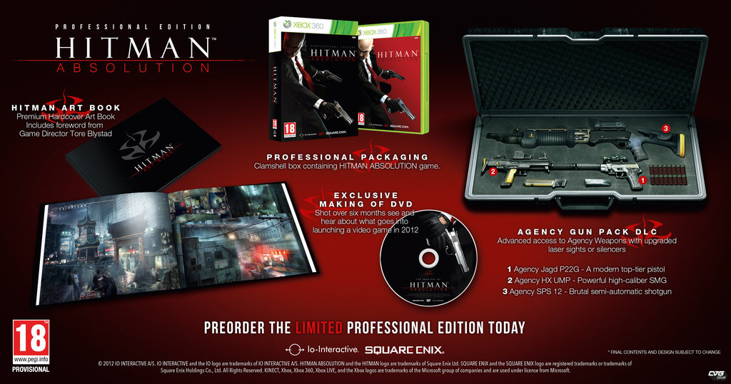 Hitman Absolution Professional Edition Announced Neogaf
