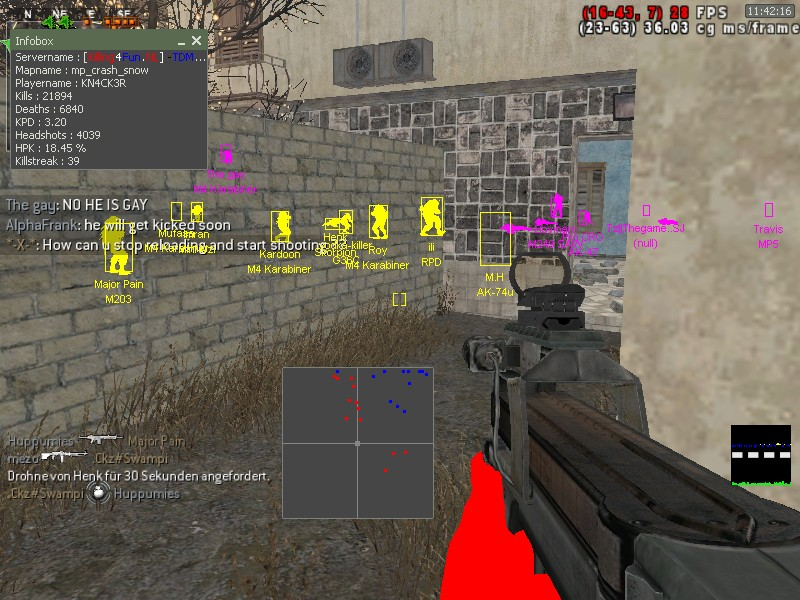 Call of duty 4 wallhack, aimbot, cheat (cod4 hack) + link ( free.