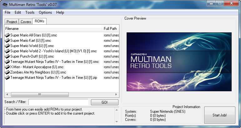 MultiMan Retro 'Tools' for Windows [ MMRetroCR ] *UPDATE (multiMAN