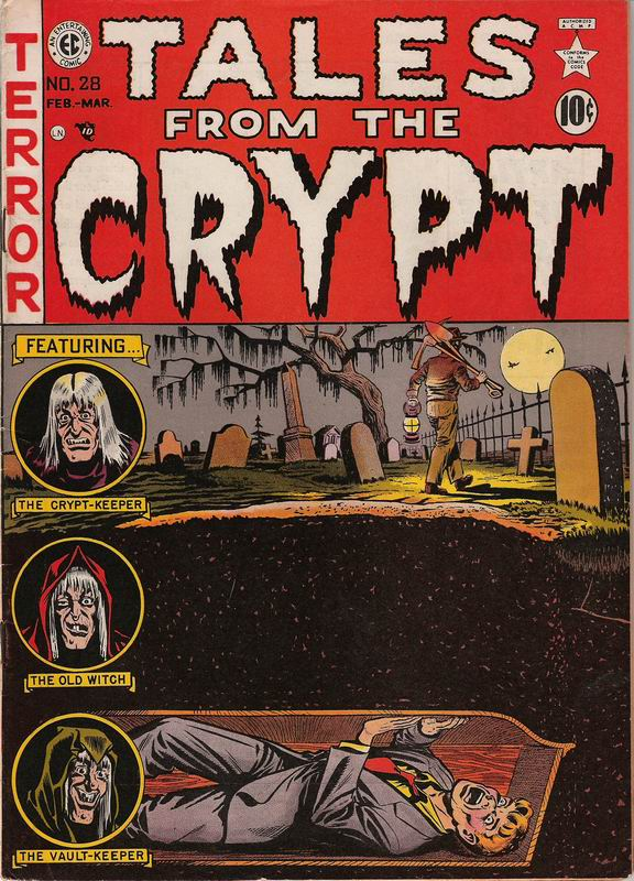 If Anyone Wants To See Any Specific Stories From Either EC Comics Tales The Crypt Haunt Of Fear