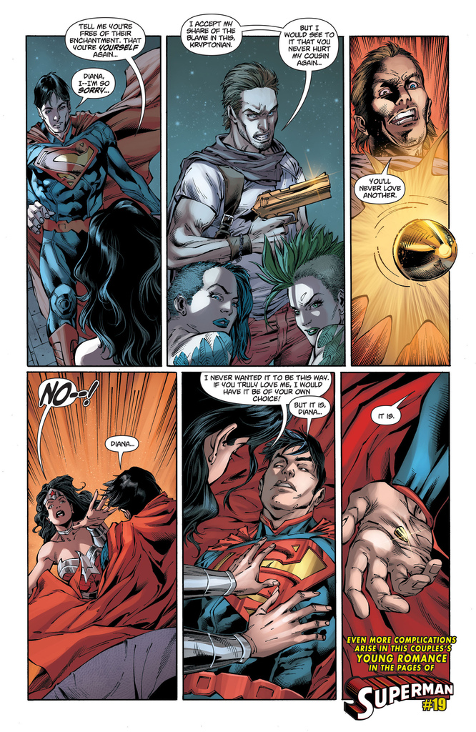 Wonder woman dating superman
